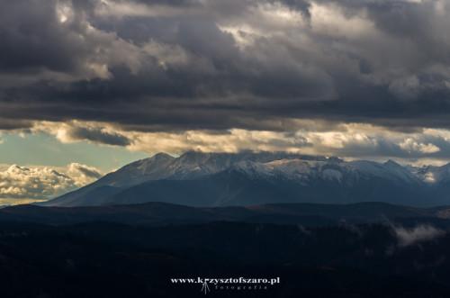 widok z Wysokiej na Tatry,,,