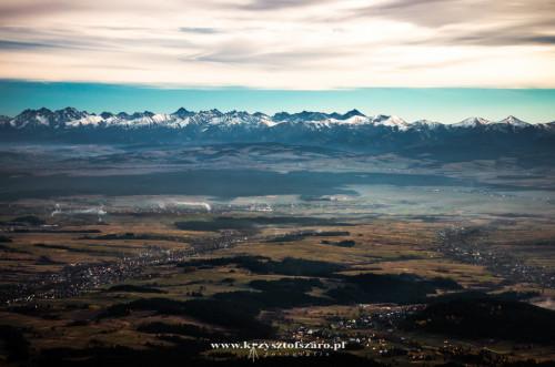 niesamowita przestrzeń i Tatry...