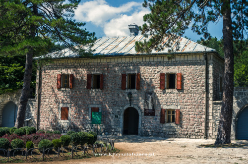 Bilardówka...była rezydencja władyki Czarnogóry Piotra II Petrowicia-Niegosza...