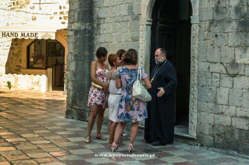 przed Cerkwią św. Łukasza...