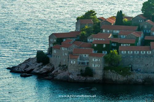 apartamenty na wyspie Sveti Stefan...