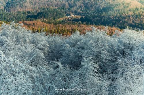jesień walczy z zimą.....