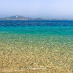 plaża na wyspie Marathonisi....