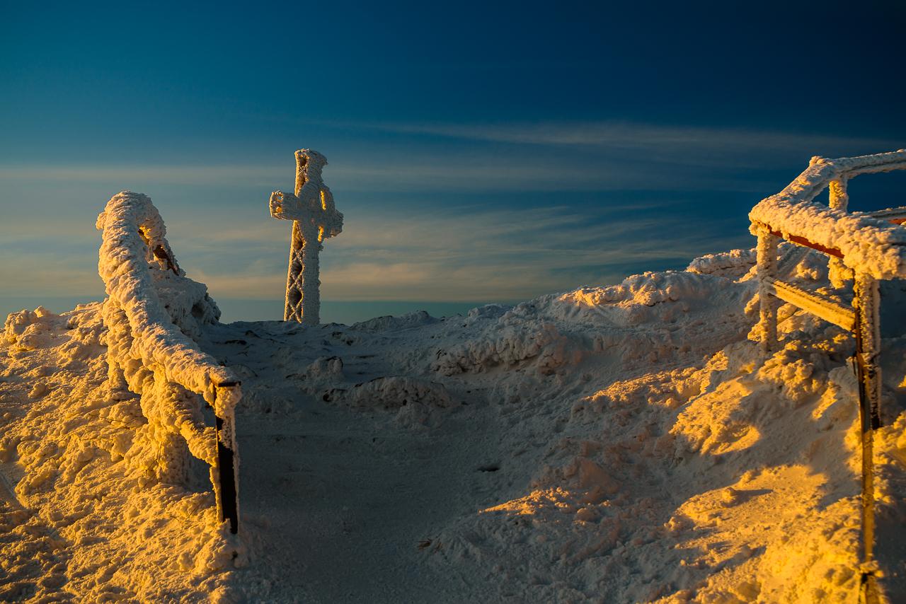 krzyż na Tarnicy