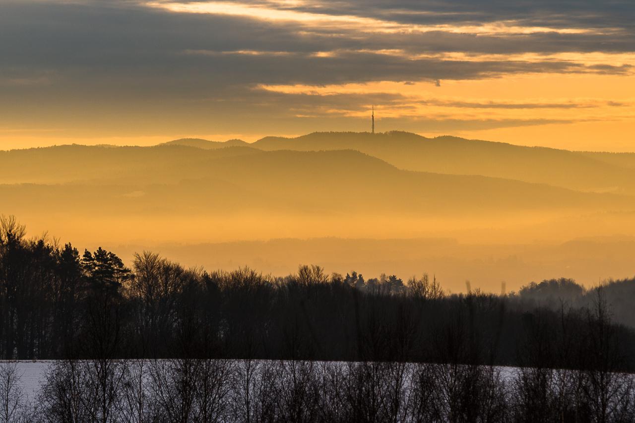 nadajnik na Suchej Górze w Czarnorzekach